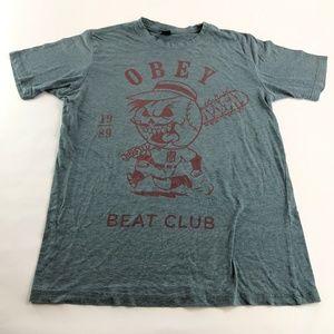 OBEY Short Sleeve Beat Club T-Shirt